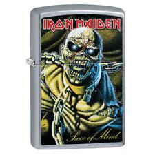 Zippo 29876, Iron Maiden-Piece of Mind, Street Chrome Lighter, Pipe Insert (PL)