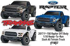 Traxxas 1:10 2017 F-150 Raptor SVT 2WD Slash RTR Batt/Chgr/TQ/iD TRA580941
