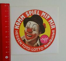 ADESIVI/Sticker: Assia TOTO LOTTO rennquintett (05061689)