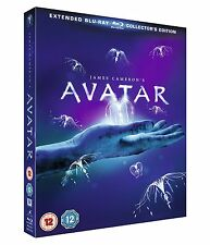 AVATAR Extended Collector's Edition Blu-ray 3-DISC Region B NEW SEALED