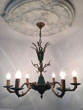 Empire Stil Kronleuchter Chandelier Deckenlampe 6 fl. Ø 70 cm