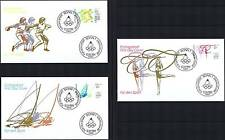 BRD 1984: Olympische Spiele Sporthilfe-FDC Nr 1206-1208! Bonner Stempel! 1A 1807