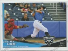 2019 Hudson Valley Renegades Jonathan Embry RC Rookie Tampa Bay Rays