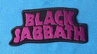 BLACK SABBATH PURPLE HEAVY METAL MUSIC ROCK SEW ON IRON ON PATCH BADGE