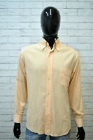 Camicia Uomo HENRY COTTON'S Maglia Taglia L Shirt Man Manica Lunga Hemd