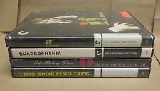 Criterion DVD lot - 4 British Dramas - Ruling Class, Sporting Life, If..., plus