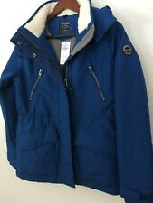 ABERCROMBIE & FITCH spring midweight Jacket coat Blue Small XS NWT Hollister A&F