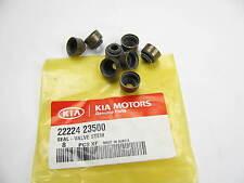 (8) Engine Valve Stem Oil Seals OEM For KIA 2222423500