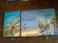 Quinze ans / Le petit garçon / Les gens / Philippe Labro Lot de 3 livres