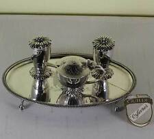 Sterling Silver Condiment Set & Tray