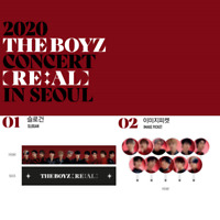2020 THE BOYZ 더보이즈 CONCERT [ RE:AL ] IN SEOUL Official MD + Tracking# In stock