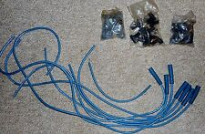 "TAYLOR  HI-PERFORMANCE SILICONE IGNITION CABLES 353-36M, 8MM, ""COMPETITION BLUE"""