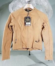 Roland Sands Designs Tan Quinn Leather Ladies Jacket small 0801-1231-4752