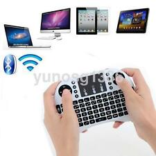 2.4G Mini Wireless Keyboard with Touchpad for PC Pad Andriod Smart TV White UK
