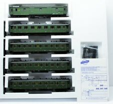Liliput H0 847 Schnellzugwagen-Set Deutsche Reichsbahn 5-teilig in OVP