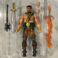 HERCULES & Ares Fire Sword - Marvel Legends - No Armored Thanos BAF - Eternals