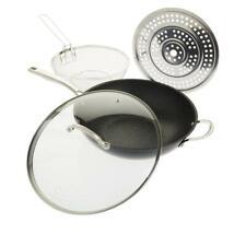Curtis Stone Dura-Pan 5-Quart 4 Peças Frigideira Antiaderente Chef's Conjunto Modelo 638479