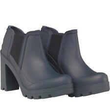 Hunter Womens Original High Heel Shoes, Navy, UK 3 EU 36 US 5, BNIB
