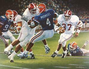 "Daniel Moore ""Rebirth in the Swamp"" Alabama Football Lithograph Print"