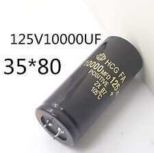 1PC Electrolytic Capacitor 125V 10000uF 35x80mm can replace 120V 100V Audio #J05