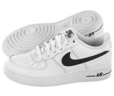 Nike Air Force 1 - 3 (GS) Youth AV6252-100 White/Black UK 3 EU 35.5 US 3.5Y New