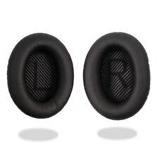 Black Ear Cushion Kit Bose QuietComfort 35 QC35 Casque Coussinets tasses de remplacement