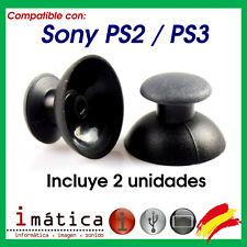 JOYSTICK PARA SONY PS3 PS2 PLAYSTATION 3 2 ANALOGICO MANDO THUMB STICK REPUESTO