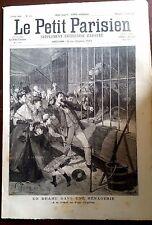 Le petit parisien 12/4/1891; A la foire au Pain d'Epices/ Attaque de Lion