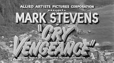 CRY VENGEANCE, 1954, MARK STEVENS, MARTHA HYER Film Noir classic: DVD-R Region 2