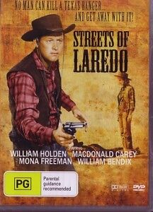 STREETS OF LAREDO - WILLIAM HOLDEN - NEW & SEALED DVD