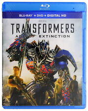 Transformers: Age of Extinction (Blu-ray No DVD, 2014)