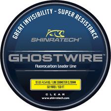 Ghostwire Fluorocarbon Leader Line - 10lb