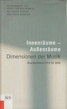 Innenräume - Aussenräume Dimensionen der Musik - Brucknerhaus 1974 bis 2004