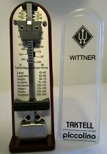 Wittner Taktell Piccolino Mini Mechanical Metronome Metronom Made in Germany EUC