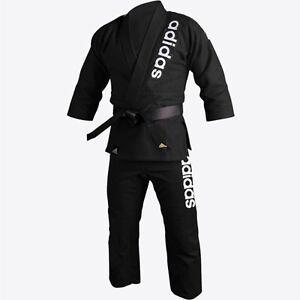 adidas Jiu-Jitsu Black BJJ Double Weave Training Kimono Gi