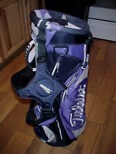 NEW w/Tags Titleist X86 Purple/Gray Golf Stand Bag , Dual Strap, 6-Way divider