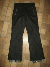 EUC women's BODY GLOVE black snow pants / SNOW TECHNOLOGY  - size 10 / MED