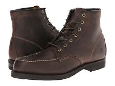 New in Box Frye Mens Arkansas Moc Toe Lace Up Boot Gaucho Brown Size 8 M US