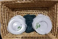 Block Spal Portugal Water Colors  Poinsettia  Appetizer Dessert Plates  11 -1982