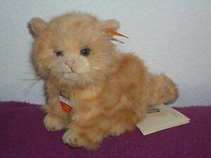Original limitierte Whiskas Katze von Steiff