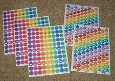 Teacher Resource: 513 Stickers (Smiley Face & Stars Designs)