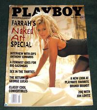 "Rare FARRAH FAWCETT JULY 1997 ""PLAYBOY"" MAGAZINE"