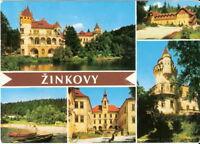 AK Ansichtskarte Zinkovy / Tschecheslowakei CSSR