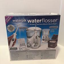 New WaterPik WaterFlosser WP-140 & Traveler WP-310 w/ 12 Tips Satin Finish