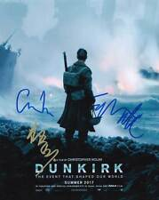 Dunkirk In-Person AUTHENTIC Autographed Cast Photo by 3 COA SHA #46020