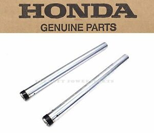 New Fork Tubes Set 01-10 GL1800 Goldwing OEM Honda Pipes Legs Stanchions  #V95