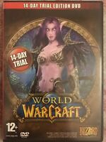 #D7051 - PC-World Of Warcraft-Trial Edition - PC - DVD - NEW (Not Sealed)