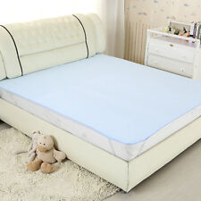 Washable Waterproof Incontinence Bed Sheet Seat Pad Protection Aid Mattress 1X2m