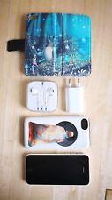 Apple  iPhone 5c - 16GB - Weiß (Ohne Simlock) mit Schutzhüllen