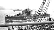 ROYAL NAVY F CLASS DESTROYER HMS FURY PASSES ORONSAY AT GOUROCK IN APRIL 1940